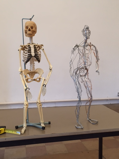 wire selfie plus skeleton